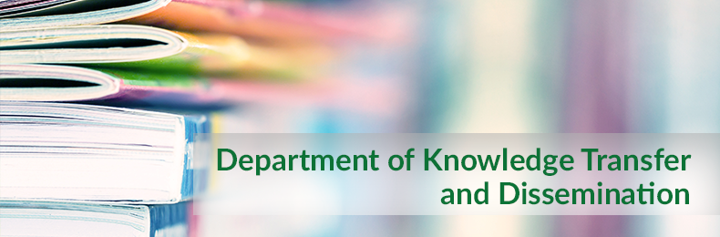 Department of Knowledge Transfer and Dissemination